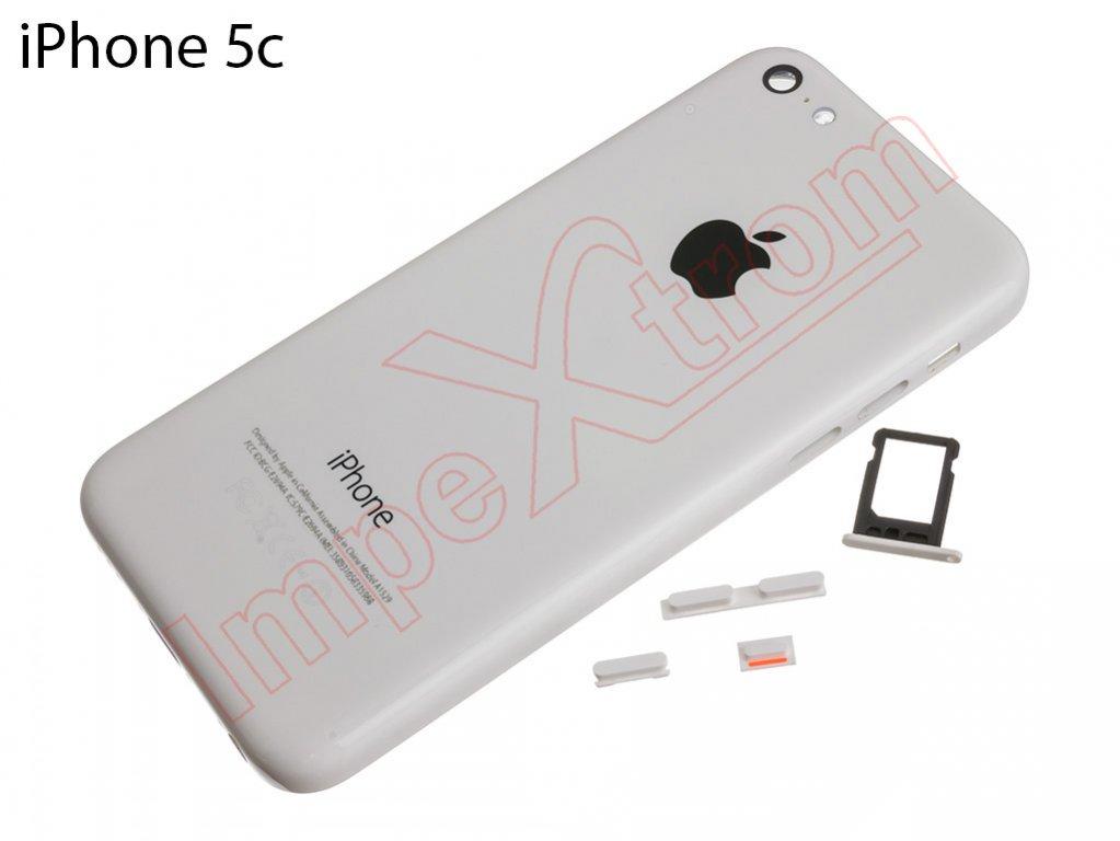 ca6e968eedf carcasa-trasera-blanca-para-iphone-5c
