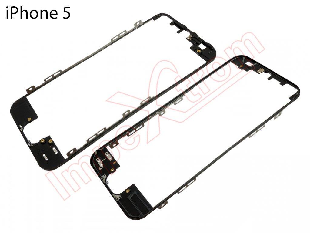 Marco, soporte Pantalla táctil Iphone 5 negro