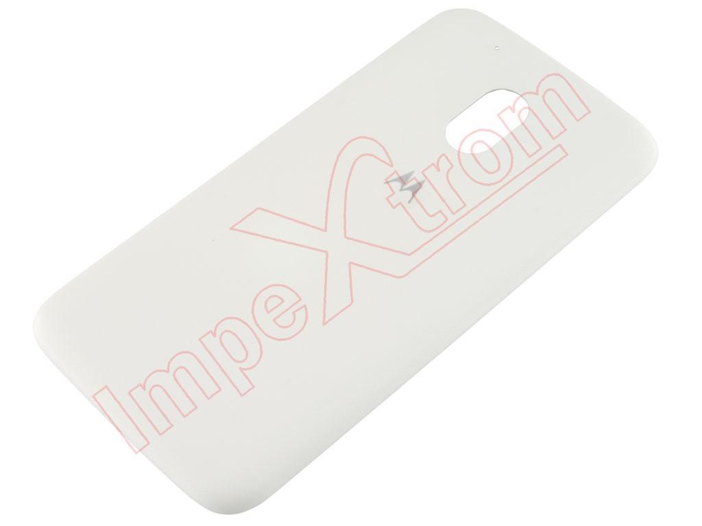 online store 5e404 dd65b White battery cover for Motorola Moto G4, XT1622, XT1626