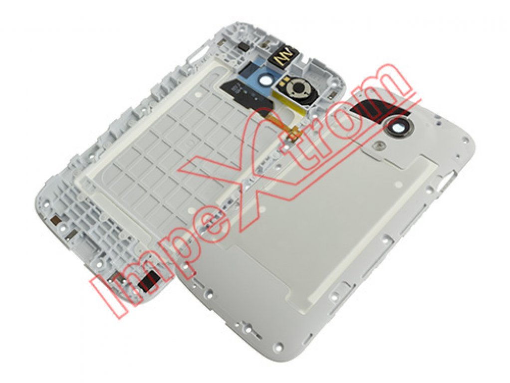 White central housing with components for Motorola Moto G