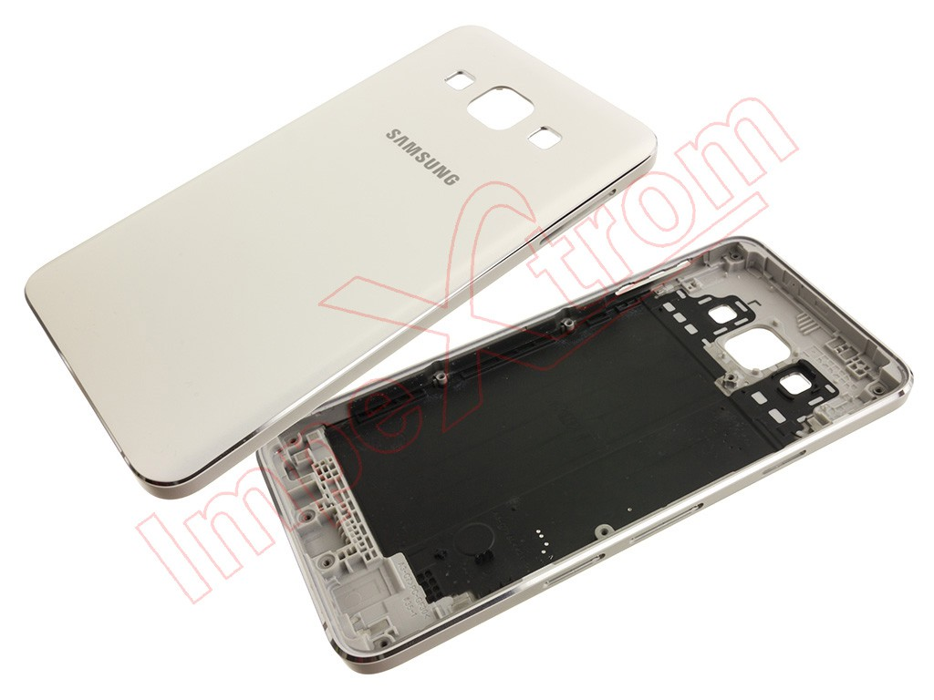 White Back Housing For Samsung Galaxy A3 A300 16 Gb