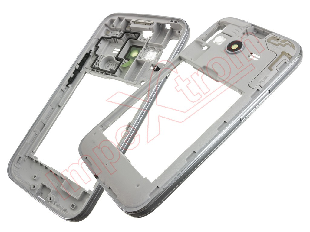 500e602511b Carcasa central blanca para Samsung Galaxy Ace 4 LTE, G313M !