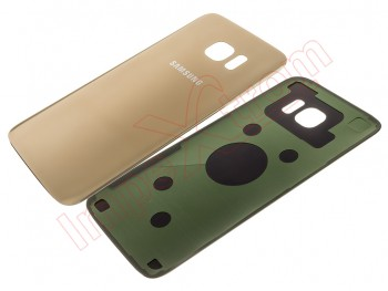 Gold battery cover for Samsung Galaxy S7 Edge, G935F