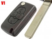 compatible-housing-for-peugeot-1007-remote-controls