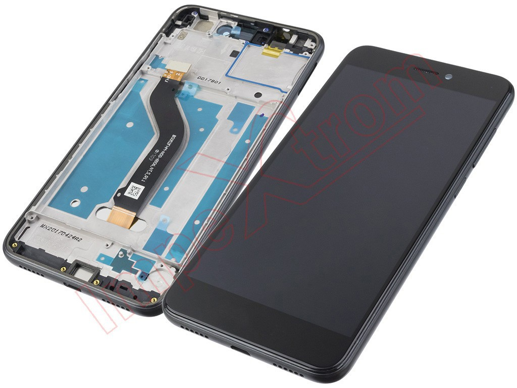 3eef4a99d43 Pantalla completa (LCD/display + digitalizador/táctil) con marco Huawei P8  Lite 2017 , PRA-LX1 P9 Lite 2017, Honor 8 Lite, Nova Lite , GR3 (2017) negra