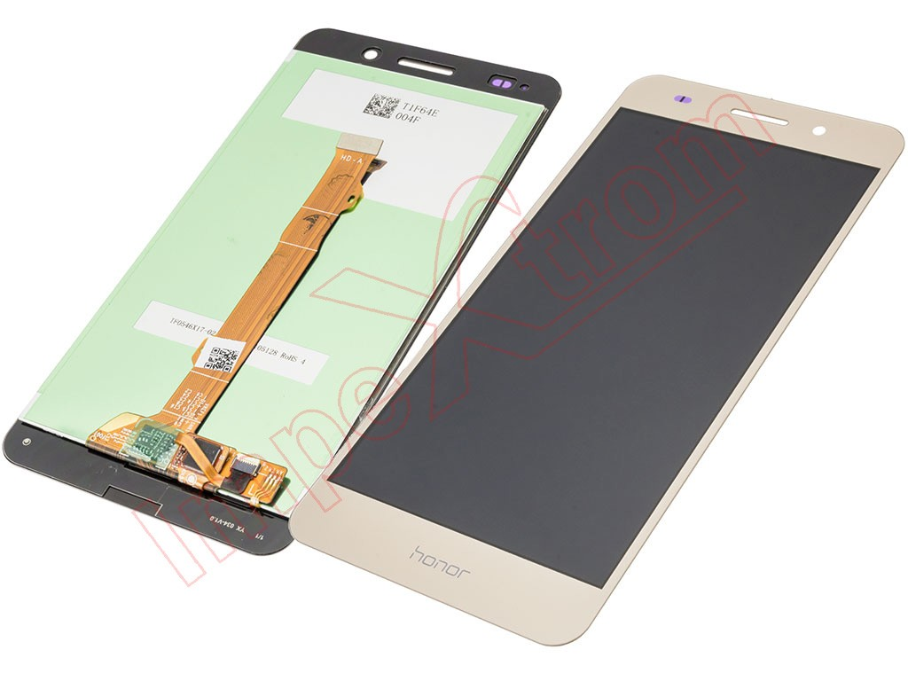 Gold full screen (LCD/display + touch/digitizer) for Huawei