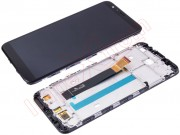 black-full-screen-lcd-display-touch-digitizer-with-frame-and-front-housing-for-meizu-m8c