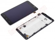 black-full-screen-lcd-display-touch-digitizer-with-front-housing-for-ulefone-metal