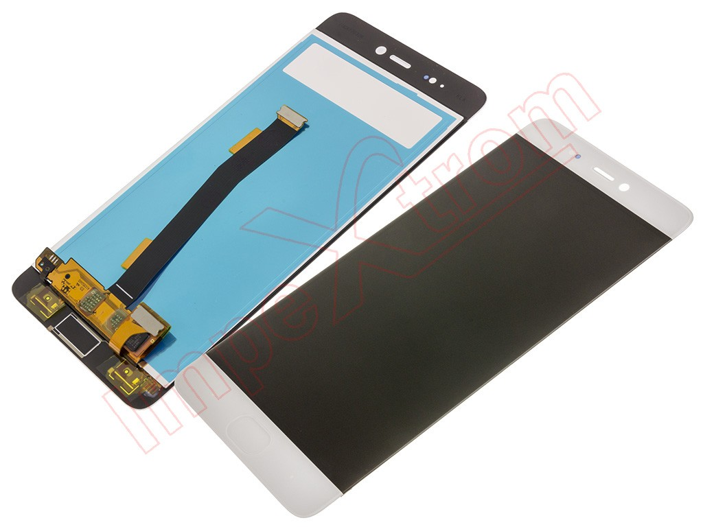 Full Screen Lcd Display Touchscreen Digitizer For Xiaomi Mi5s Tempered Glass Cover White