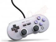 gamepad-8bitdo-n30-pro-en-color-gris-y-negro-para-windows-switch-steam-y-raspberry-pi-sn-pro-usb
