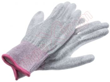 ESD Anti-skid Anti-static PU Palm coated Work Gloves