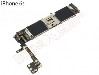 Placa base libre   para iPhone 6S, 16GB, remanufacturada, sin botón ID