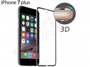 curved-tempered-glass-screensaver-with-black-aluminum-frame-for-apple-phone-7-plus-5-5-inches