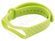 green-bracelet-with-waves-design-for-xiaomi-mi-band-3