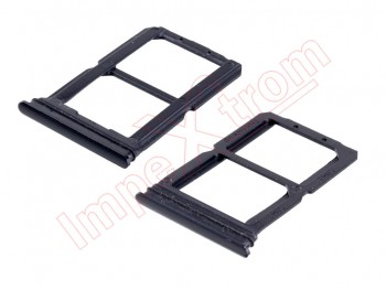 Mirror black Dual SIM tray for Oneplus 6, A6003