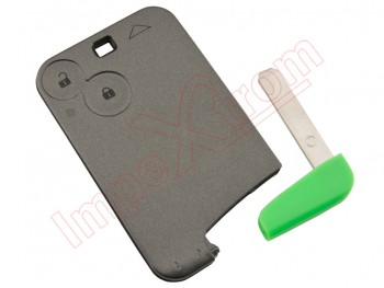 Cover of the card - key - telemando of 2 buttons  Renault Laguna