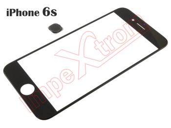 Window with home button Apple Phone 6S black